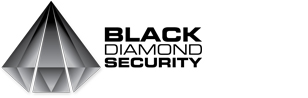 Black Diamond Security Sticky Logo